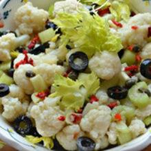 Заготовки из цветной капусты на зиму: рецепты